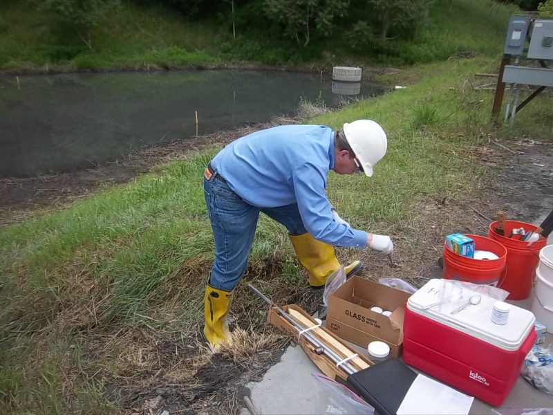 Field Astivities Soil and Pond Water Sampling