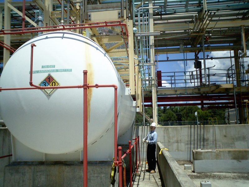 Hazardous Waste Tank - Inspection