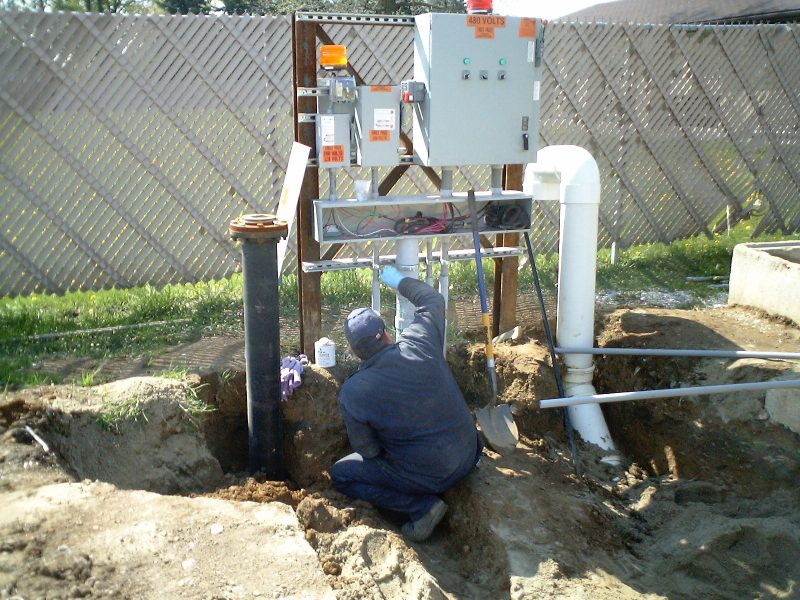 Stormwater Treatment - Pumping System